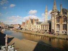 http://www.reishonger.nl/reistips/weekendje-gent/ #visitgent gent ghent weekendje travel visit belgium europe