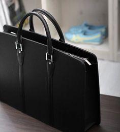 stacy bag hot sale good quality men fashion handbag black man solid briefcase business bag man large totes single shoulder bag $18.00