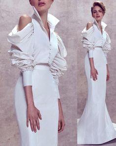 Ashi Studio 2018 @ashistudio // #fashion #art #couture #fashionweek #runway #style #moda #details #color #spring2018 #nyfw #couturefeast…