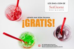 ¿Ya estás listo para celebrar con nosotros el día 6? #SeiGiornideli