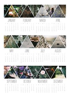 aprons and birds: 2013 calendar