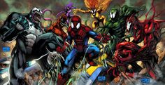 Symbiotes vs Spider-Man