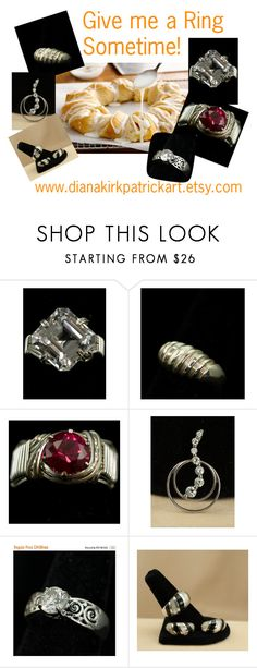 """""""Give Me A Ring Sometime!"""" by diana-32 ❤ liked on Polyvore featuring vintage"""