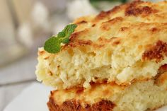 1/2 cup (1 stick) butter, melted 1/2 cup flour 1 teaspoon baking powder 1/2 teaspoon salt 1/2 teaspoon nutmeg, grated  Report Advertisement PREPARATION Preheat oven to 400°F and grease a 9 by 13 inch baking dish with butter or non-stick spray. In a medium bowl, stir together eggs, melted butter, cottage cheese, mozzarella, flour, baking powder, and salt. Pour into prepared baking dish and transfer to oven. Bake for 15 minutes, then reduce heat to 350°F and continue baking until a toothpick…
