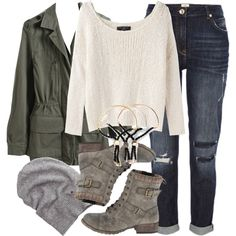 """""""Malia Inspired Winter Outfit"""" by veterization on Polyvore"""