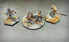 A French company command group, ready for the Nivelle Offensive, with attendant company musician and senior Sergent.  Figures from Brigade Games, Scarab and Forgotten & Glorious, all 28mm.