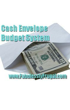 Cash Envelope Budget System... how it works for real people!