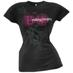 Ladies Breaking Benjamin tshirt - $22 at www.oldglory.com