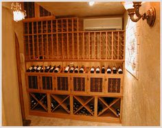 Gryphond Design from Oakland, CA is known for producing fine Home Wine Cellars at reasonable prices.