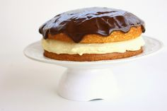 Boston Cream Pie.  It's been years since I made this wonderful treat!  Why oh why have I waited so long???