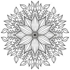 Find Mandala Round Ornament Pattern Vintage Decorative stock images in HD and millions of other royalty-free stock photos, illustrations and vectors in the Shutterstock collection. Mandala Coloring Pages, Coloring Book Pages, Embroidery Patterns, Hand Embroidery, Ornament Pattern, Mandala Drawing, Zentangle, Mandala Design, Vintage Patterns