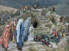 James Jacques Joseph Tissot The Holy Women Stand Far Off Beholding ...