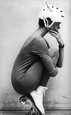 michaelallanleonard: Roller Disco Fashion from Vogue 1982.