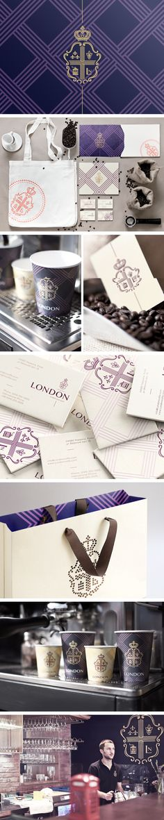 Coffee House London | Reynolds and Reyner. Time for a coffee break #identity #packaging #branding PD