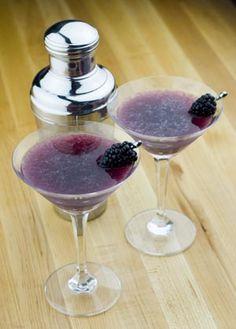 Blackberry Martinis