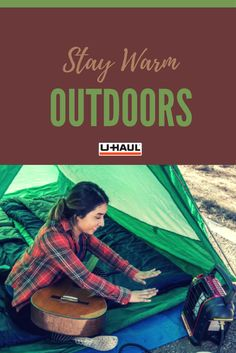 Weather is cooling down, but you can still hangout outside! Click through to find a propane portable heater! | Camping Tips