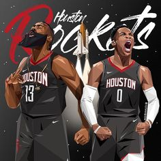 James Harden and Westbrook Rockets Rockets, james, Photography Nba, Harden, Westbrook Mvp Basketball, Basketball Legends, Basketball Videos, Nba Rockets, Houston Rockets, Nba Pictures, Basketball Pictures, Rose Nba, Best Nba Players