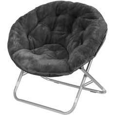 Accent any room with this Mainstays Faux Fur Saucer Chair. Mainstays Faux-Fur Saucer Chair, Multiple Colors Faux-fur chair adds a colorful and cozy decorative touch to rooms. Papasan Chair, Egg Chair, Chair Cushions, Chair Upholstery, Swivel Chair, Tufted Chair, Chair Pads, Armchair, Urban Shop