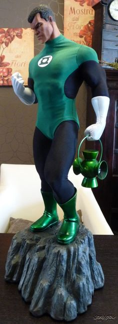[HALIMAW!] Green Lantern Exclusive Full Mixed Media Premium Collectible Review