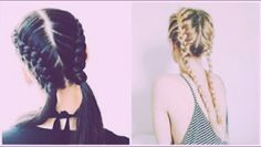 New trend 2017 Wow!  Braids are so cute.