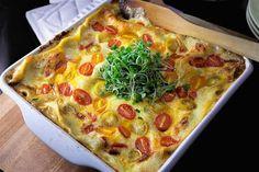 Saaranlautasella: Ei lasagne mitään lihaa kaipaa! Täydellinen kasvis...
