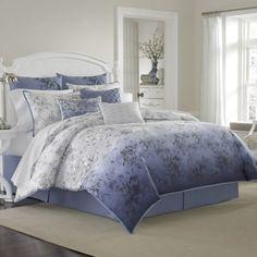 Laura Ashley Delphine Comforter Set - BedBathandBeyond.com