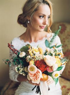 Wedding Bouquets :     Picture    Description  Gorgeous fall hued wedding bouquet: www.stylemepretty… | Photography: Bethany Erin – www.bethanyerinwe…    - #Bouquets https://weddinglande.com/accessories/bouquets/wedding-bouquets-gorgeous-fall-hued-wedding-bouquet-www-stylemepretty-photography-bethany/