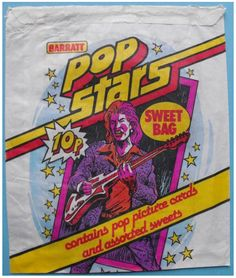 Sweet wrappers over the years - Page 23 Old Sweets, Vintage Sweets, Retro Sweets, Vintage Ads, Toy Packaging, Vintage Packaging, Sweet Wrappers, Pop Bag, Sweet Bags