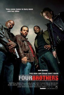 Four Brothers (2005) DVD cast: Mark Wahlberg, Tyrese Gibson, André Benjamin,  Garrett Hedlund