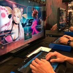 Playing some Tekken7 #nycc2016 #nycc #tekken7 #fgc #nyc #gamer