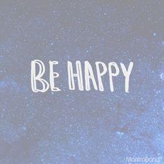 BE HAPPY — MantraBand® Bracelets