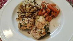 21 Day Fix Approved: Wild Rice and Chicken Bake! Family and Fix Approved!