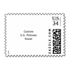 Create your own custom, personalized, USPS postcard photo postage #stamp. Put a personal touch on your mail - party invites, holiday greetings, travel postcards, and more.