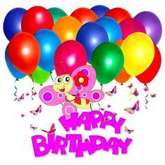 Happt Birthday Balloons etc.