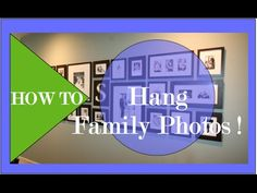 How To Hang a Family Photo Gallery -  Robeson Design