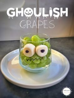 Halloween Inspiration - Ghoulish Grapes
