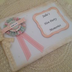 Our hen party guest books with printed covers  £22.50 each #henparty #henpartyaccessories #henguestbook #henpartyideas #henpartygifts
