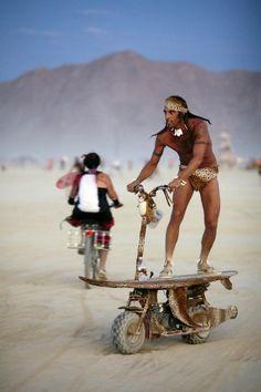 The Dust Storm Burning Man 2010
