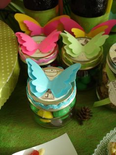 Treats at a Woodland Party #woodland #party