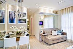 decoração apartamento 50m2 - Pesquisa Google
