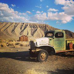 The ghost town of Ballarat in Death Valley, California, USA. Picture: Zita Stockbridge of Bexleyheath, Kent