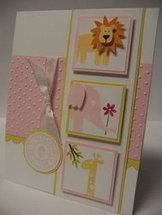 Wild About You Baby Card by Luv2Stamp - Cards and Paper Crafts at Splitcoaststampers
