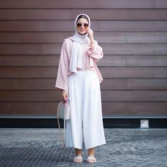 New Ideas Style Hijab Casual Pants Islamic Fashion, Muslim Fashion, Modest Fashion, Trendy Fashion, Fashion Outfits, Modest Wear, Modest Dresses, Modest Outfits, Hijab Fashionista