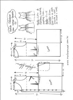 Выкройка летнего сарафана (Шитье и крой) | Журнал Вдохновение Рукодельницы