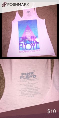 Pink Floyd tank In great condition! Worn like once! Tops Tank Tops
