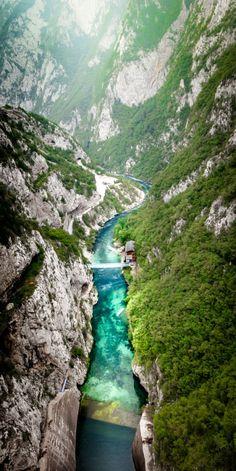 Montenegro, Tara River Canyon.