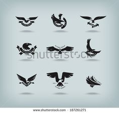 Fotos stock Eagle coat of arms, Fotografia stock de Eagle coat of arms, Eagle coat of arms Imagens stock : Shutterstock.com