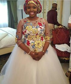 Ankara Bridal Dresses and Wedding Gowns for You African Print Fashion, Africa Fashion, African Fashion Dresses, African Prints, Women's Fashion, African Outfits, Ankara Fashion, Fashion Styles, African Wear