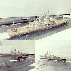 いいね!735件、コメント4件 ― Usina dos Kitsさん(@usinadoskits)のInstagramアカウント: 「Nice diorama with TARK Frunze, B-345 Mogocha, B-237 Rostov-na-Donu, K-442 Chelyabinsk and SS-7.…」