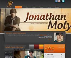 Jonathan Moly Diseño Página Web